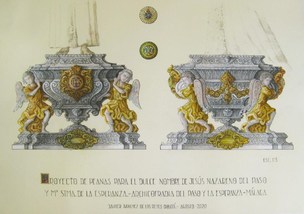La Archicofradía de la Esperanza presenta el proyecto de peanas de altar para sus Sagrados Titulares