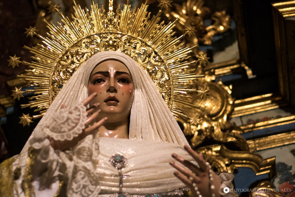¡Comenzamos con las Fotografías Cofrades de Sevilla! María Stma. del Rocío (Hermandad de La Redención)