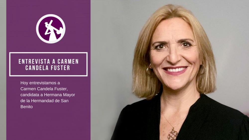 Entrevista a Carmen Candela Fuster, candidata a Hermana Mayor de la Hermandad de San Benito.