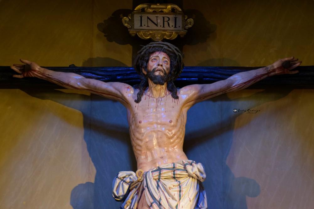 El Cristo de la Victoria vuelve a la Catedral de Málaga restaurado.